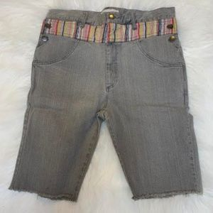 NEW Company of We Side Button Denim Shorts XL